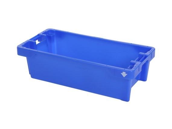 Viskist - 800x400xH225mm - 25kg - 40l - blauw