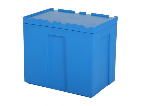 SALE - Dubbelwandige isolatiecontainer - 605x405xH540mm - blauw