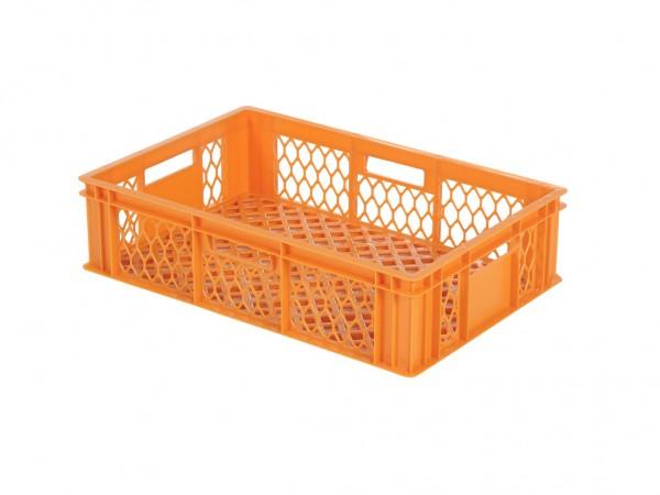 Stapelkrat - 600x400xH154mm - oranje