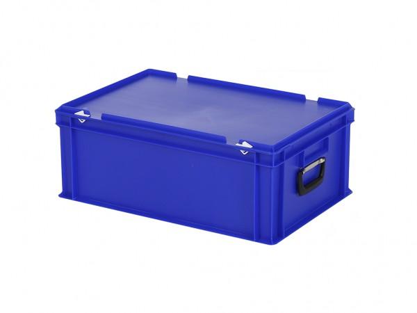 Koffer - 600x400xH235mm - blauw