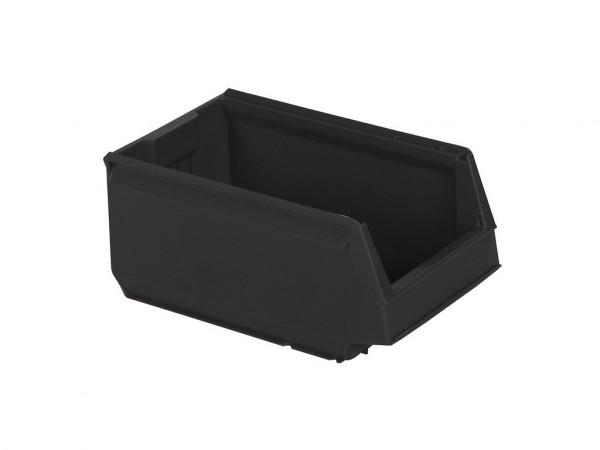 Kunststof magazijnbak - 350x206xH150mm - grijs