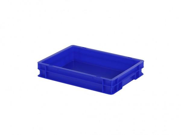 Stapelbak - 400x300xH75mm - blauw