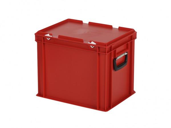 Koffer - 400x300xH335mm - rood