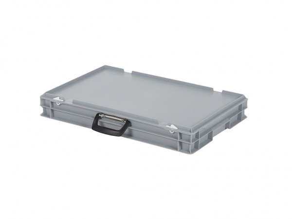 Koffer - 600x400xH90mm - grijs