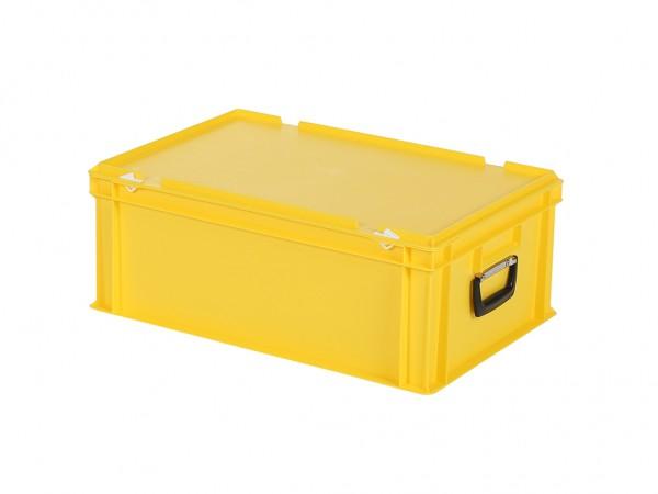 Koffer - 600x400xH235mm - geel