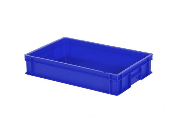 Stapelbak - 600x400xH120mm - blauw