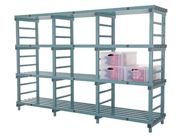 Kunststof Euro stelling - 2800x600xH1820mm