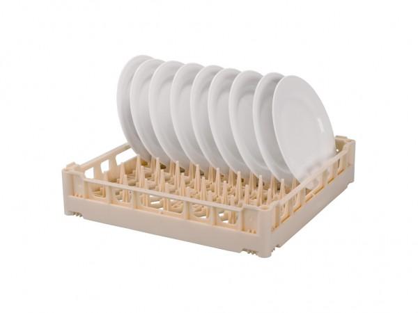 Bordenkorf 500x500mm - voor 18 platte of 14 diepe borden - beige